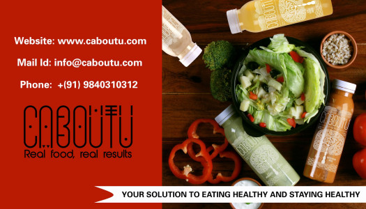 Caboutu Healthy Food And Drinks In Chennai